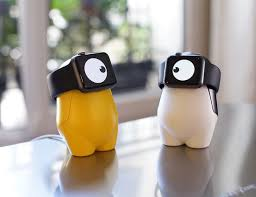 watchme cute apple watch charging stand gadget flow