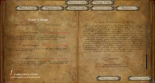 cotton resume paper camp menu image a world of ice and fire game of thrones mod report rss camp menu view original