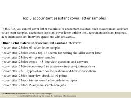 Accountant Assistant Resume Sample Top 5 Accountant Assistant Cover Letter Samples 1 638 Jpg Cb U003d1434891337
