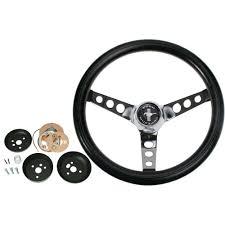 mustang steering wheels grant mustang steering wheel kit nostalgia foam 15 1965 1969
