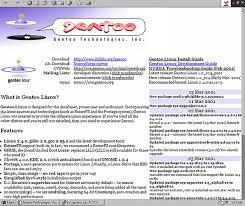 tutorial gentoo linux the gentoo org redesign part 1 a site reborn