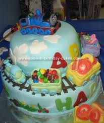 coolest thomas the train cake design