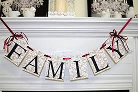 burlap thanksgiving banner family banner burlap lace family photo prop happy