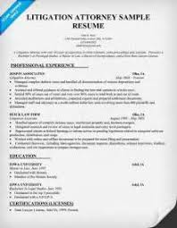 Attorney Resume Sample by Sample Resume Attorney Resume Cv Cover Letter Sample Lawyer