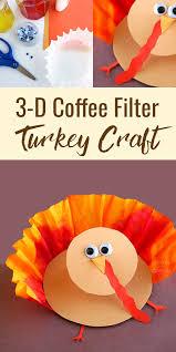 thanksgiving 3 d turkey craft for
