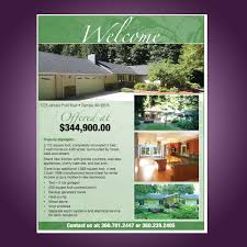 full page flyer residential home sale fast turn around time