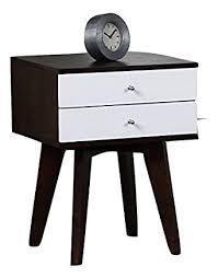 amazon com jones mid century and modern style two tone black and