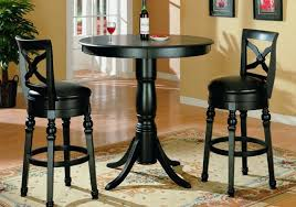 Outdoor Bistro Table Bar Height Kitchen Marvelous Bar Height Table And Chairs 4 Piece Pub Table