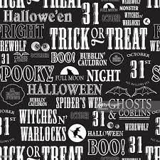 seamless halloween background halloween themed words repeating seamless background vector art
