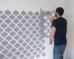 schablone wandgestaltung die besten 25 schablone für wand ideen auf