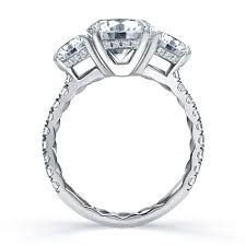 Where Does The Wedding Ring Go by A Jaffe Me1854q Engagement Ring