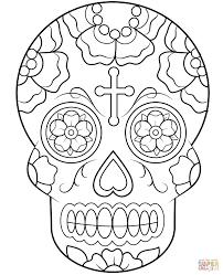 printable coloring pages sugar skulls printable sugar skulls coloring pages printable coloring pages