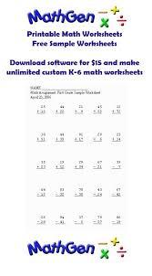 7 best math worksheets k 6 images on pinterest basic math free