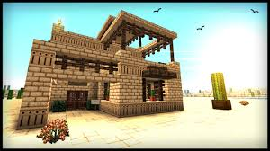 Desert Home Plans How To Build A Middle Eastern Desert House Minecraft Tutorial