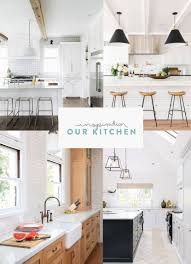 building home our kitchen design with hygge supply fresh exchange modern farmhouse style kitchen using minimal details and recycled tile in a neutral palette see