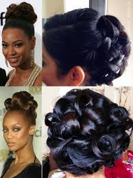 best 25 pin curl updo ideas on pinterest retro updo hairstyles