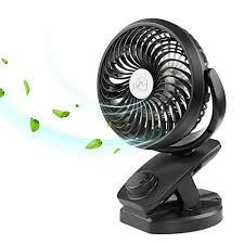 petit ventilateur de bureau fitfirst mini ventilateur usb de bureau à pince portable ventilateur
