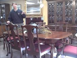 harden queen anne dining set piece 11 11 11 youtube