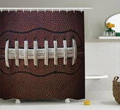Sports Bathroom Accessories by Sports Shower Curtain Boys Bathroom Decor Sports Decor For Boys