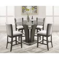 glass dining room sets glass kitchen dining room sets for less overstock