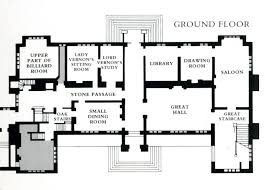 georgian colonial house plans house plan sudeley of the ground floor plans