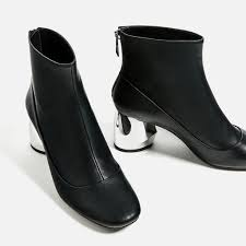 zara womens boots uk image 2 of flat crepe ankle boots from zara just my style