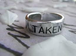 Anniversary Gifts Jewelry Taken Ring Boyfriend Girlfriend Jewelry Personalized
