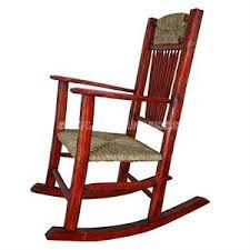 Red Rocking Chairs Rocking Chairs Indoor Leather Outdoor Red Color Wash Ratten Cane