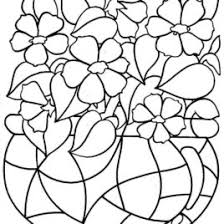 coloring pages for kids flowers give the best coloring pages gif