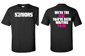 high school senior shirts local level events bradley high school senior t shirts
