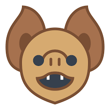 bat face icon free download at icons8