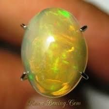 Opal Teh opal teh pelangi neon 1 85 carat batu