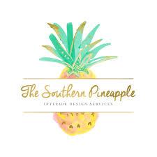 pineapple logo interior design logo premade logo branding