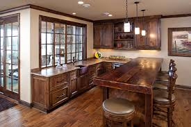 Cabin Kitchen Ideas Cabin Kitchen Ideas Kitchen Rustic With Blue Kitchen Island