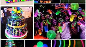 glow in the party ideas for teenagers party themes archives frosted