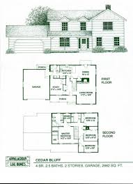 log home floor plans cabin kits appalachian homes the cedar bluff