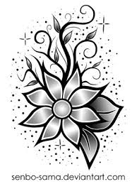 nice flower tattoo design photos pictures and sketches