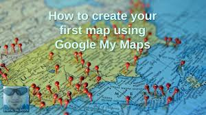 Valdosta Map How To Create Your First Google My Map Youtube