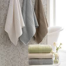 ideas for towels in a bathroom bedroom and living room image