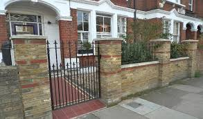 stunning brick fence designs ideas images home design ideas