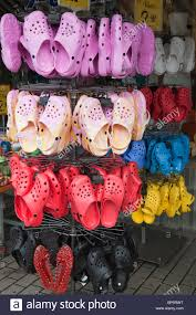 cheap replicas for sale cheap imitation crocs made in china for sale on a display