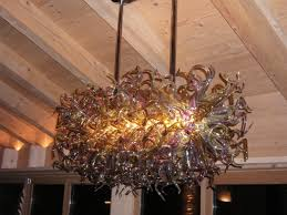 Murano Blown Glass Chandelier Touching Contemporary Blown Glass Chandeliers Ghirigori Glass