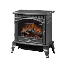 dimplex traditional 400 sq ft electric stove in pewter ds5629gp