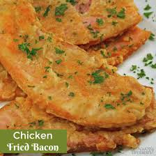 chicken fried bacon savory experiments