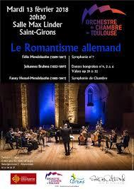 orchestre chambre toulouse ville de girons 09200 site officiel concert de l