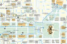 Washington Dc Sites Map by Washington Dc 2 Chainimage