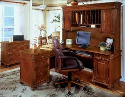 L Shaped Desk With Left Return 7480 48 Antigua Enchanting Details L Shape Desk Hutch And