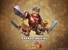clash of clans hd wallpapers barbarian king wallpaper wallpapersafari