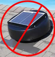 solar attic vent fan science based info on why powered attic fans including solar attic