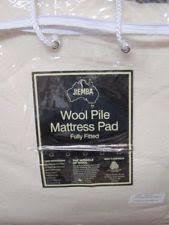 100 wool mattress pads u0026 feather beds ebay